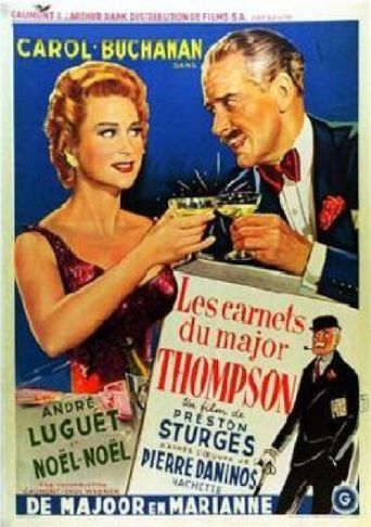 The Diary of Major Thompson Poster