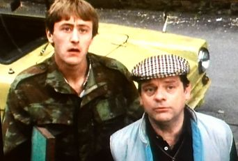 Only Fools and Horses - To Hull and Back Poster