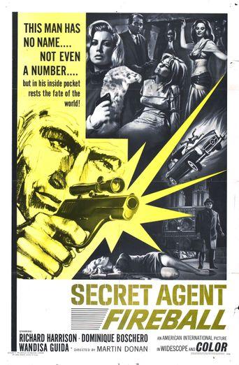 Secret Agent Fireball Poster