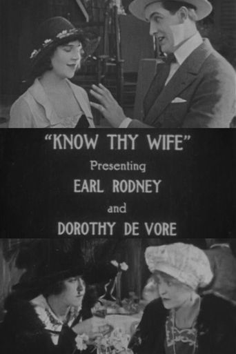 Know Thy Wife Poster