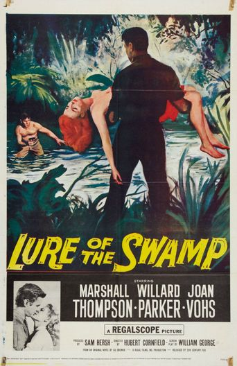 Lure of the Swamp Poster
