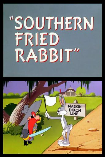 Southern Fried Rabbit Poster