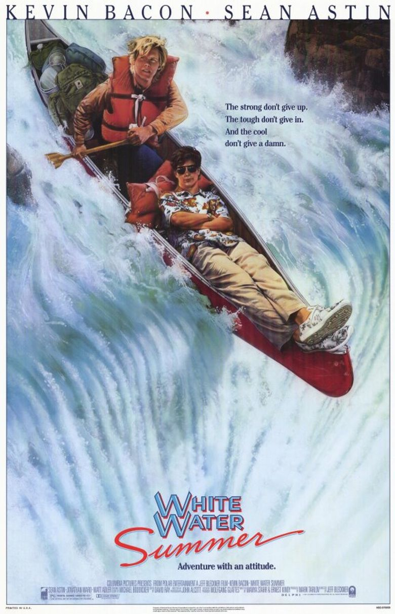 White Water Summer Poster