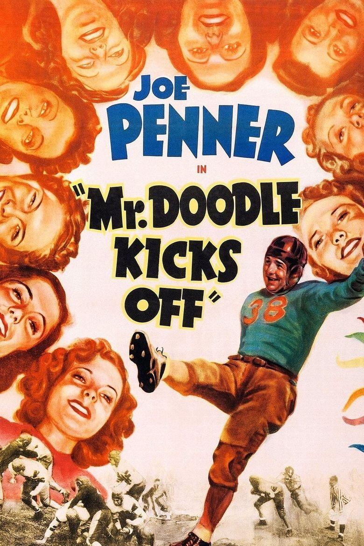 Mr. Doodle Kicks Off Poster
