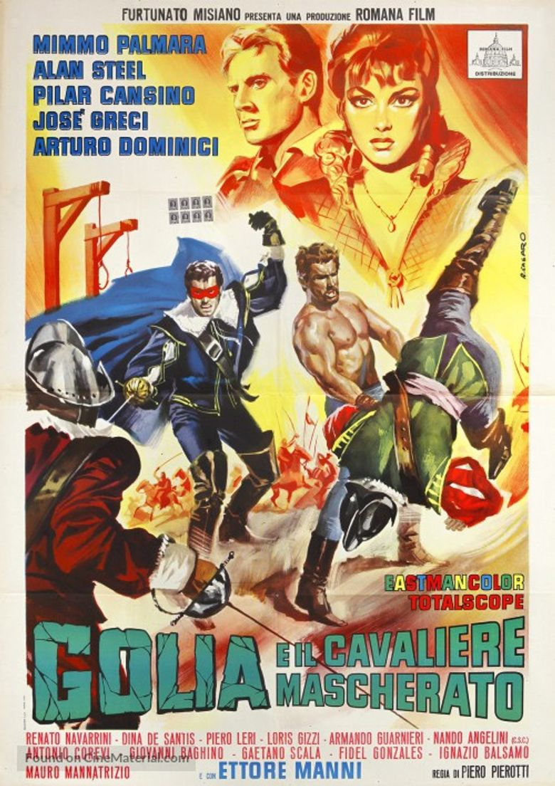 Hercules and the Masked Rider Poster