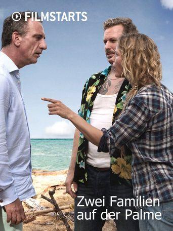 Zwei Familien auf der Palme Poster