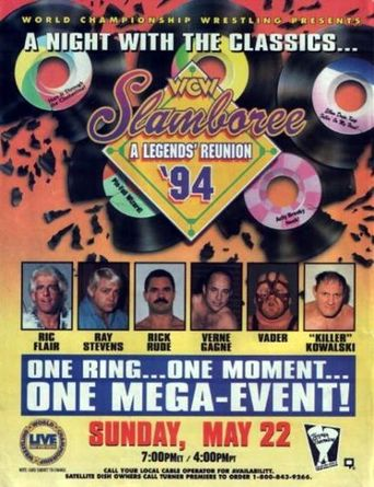 WCW Slamboree 1994 Poster