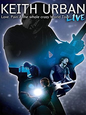 Keith Urban: Love, Pain & the Whole Crazy World Tour Poster