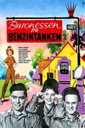 Baronessen fra benzintanken Poster