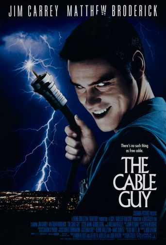 The Cable Guy Poster
