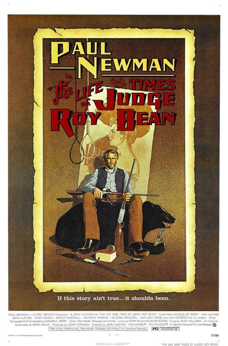 The Life and Times of Judge Roy Bean Poster