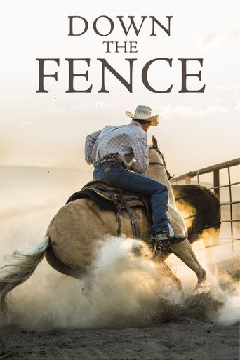Down the Fence Poster