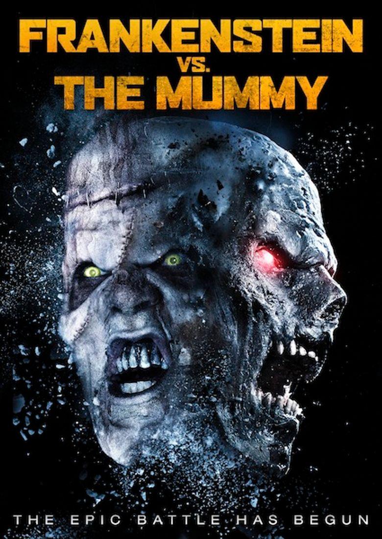 Frankenstein vs. The Mummy Poster