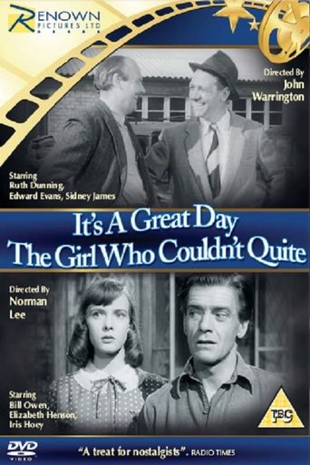 The Girl Who Couldn't Quite Poster