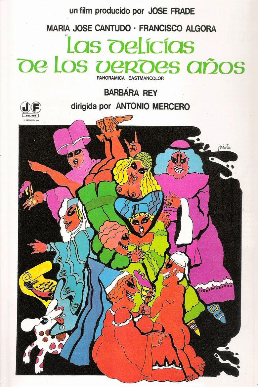 Las delicias de los verdes años Poster