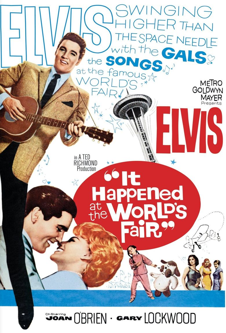 It Happened at the World's Fair Poster