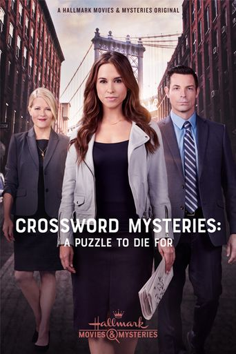 Crossword Mysteries: A Puzzle to Die For Poster