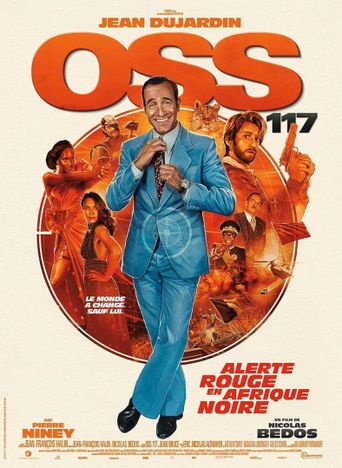 OSS 117: From Africa with Love Poster
