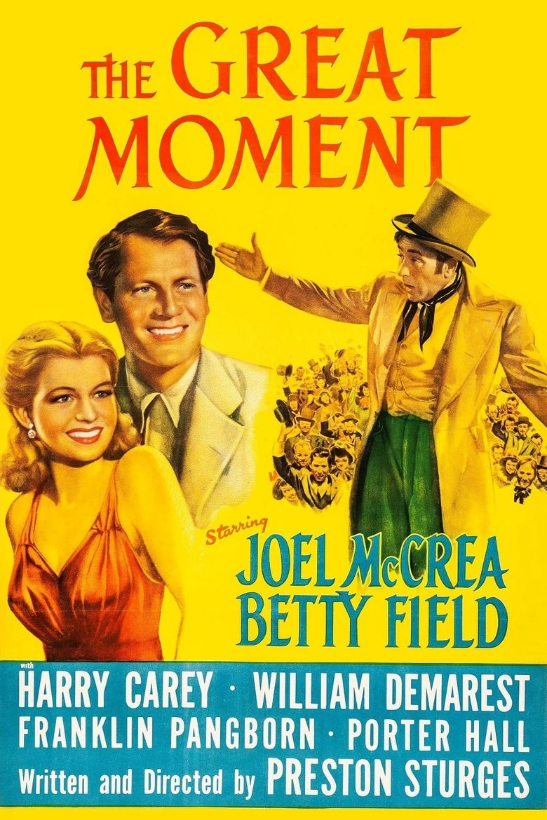 The Great Moment Poster