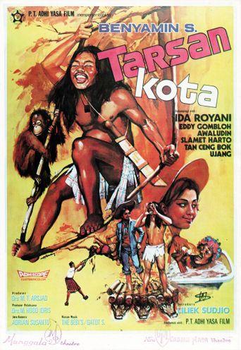 Tarzan in the City Poster