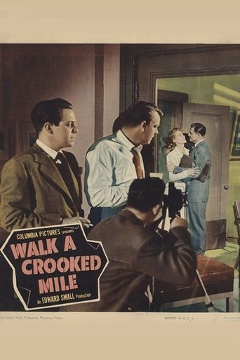 Walk a Crooked Mile Poster