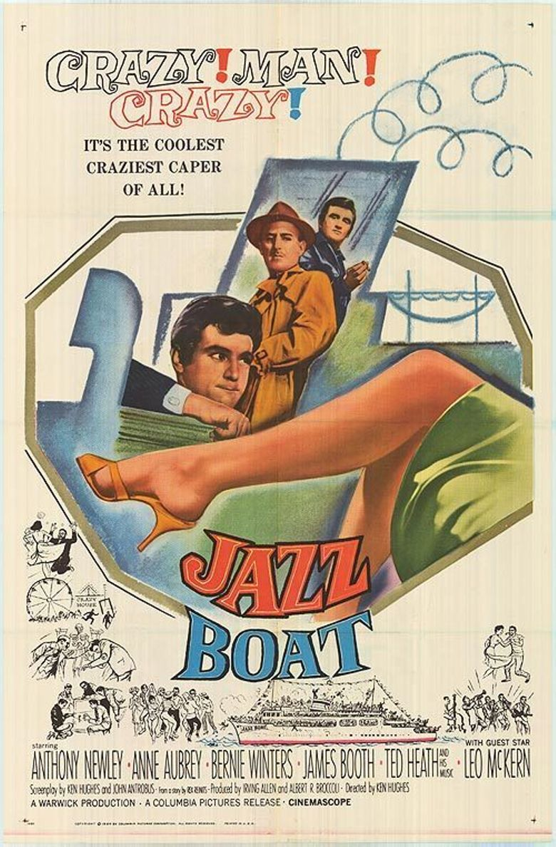 Jazz Boat Poster