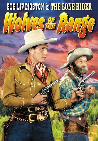 Wolves of the Range Poster