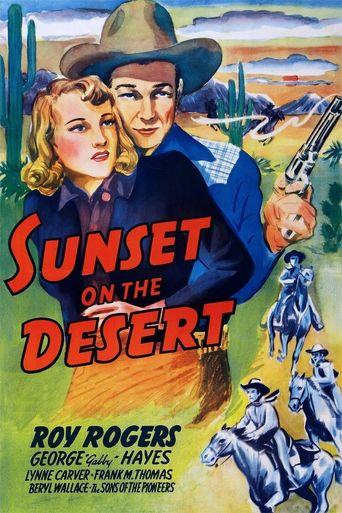 Watch Sunset on the Desert