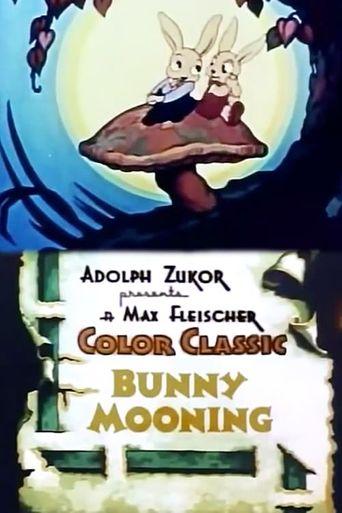 Bunny Mooning Poster