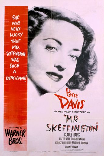 Mr. Skeffington Poster