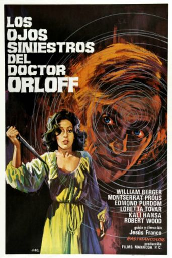 The Sinister Eyes of Dr. Orloff Poster