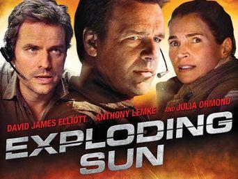 Exploding Sun Poster