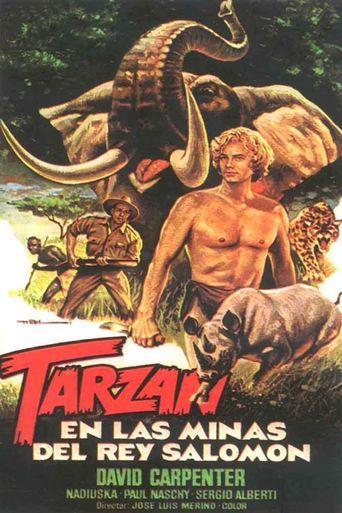 Tarzán en las minas del rey Salomón Poster