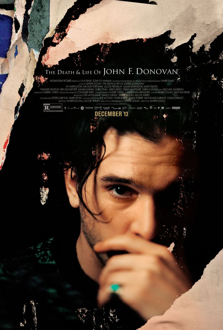 The Death & Life of John F. Donovan Poster