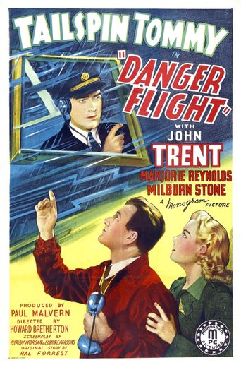 Danger Flight Poster