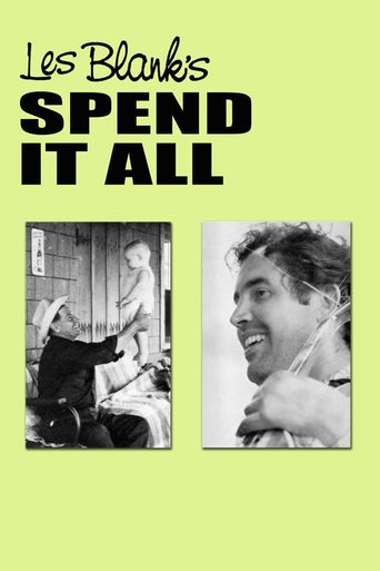 Spend It All Poster
