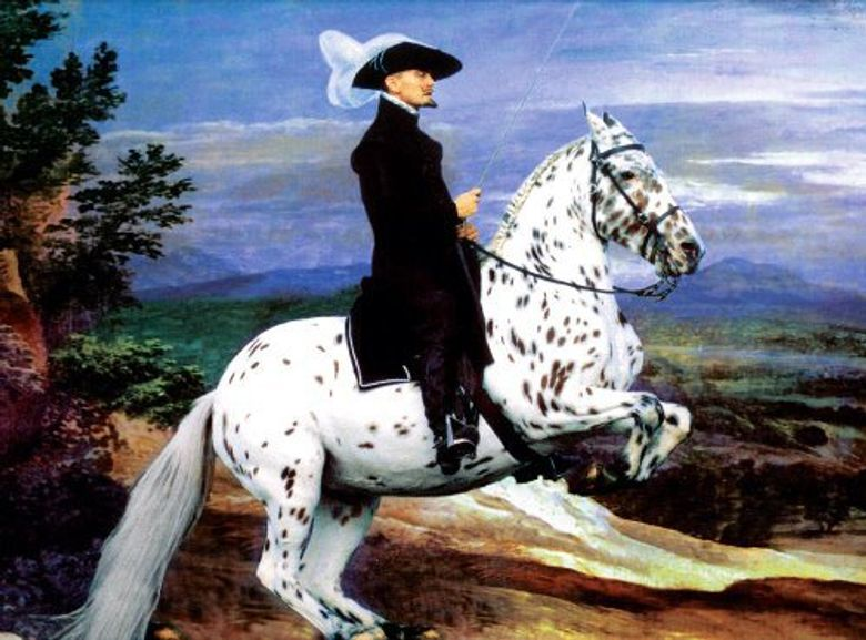 The Royal Art of Riding Poster
