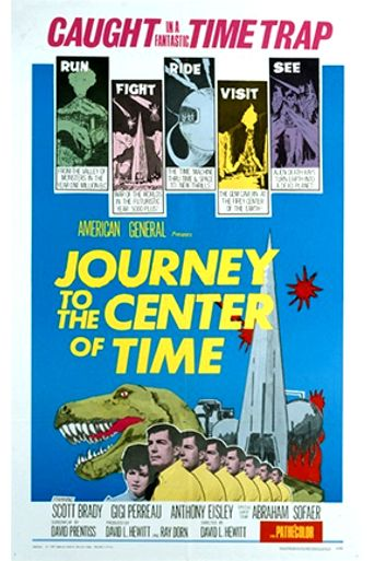 Journey to the Center of Time Poster