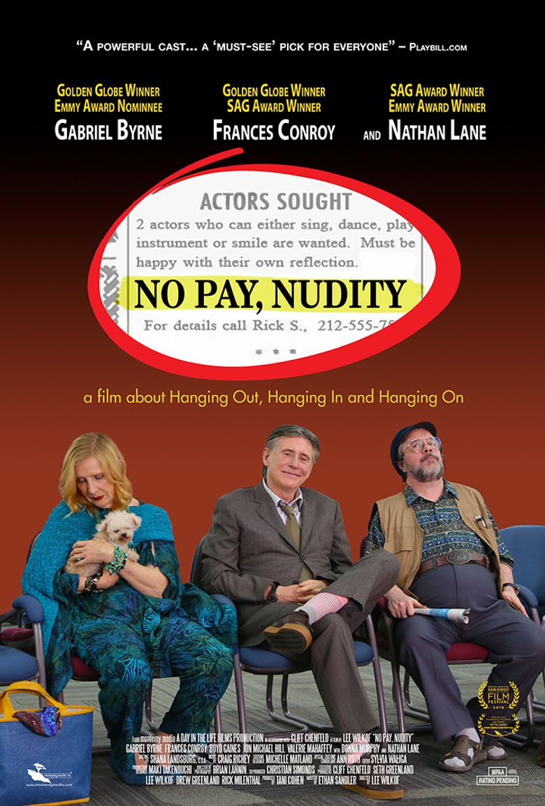 No Pay, Nudity Poster