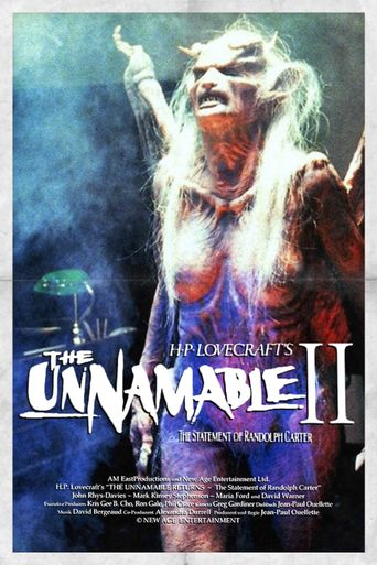 The Unnamable II Poster