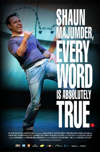 Shaun Majumder, Every Word Is Absolutely True Poster