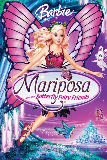 Barbie Mariposa Poster