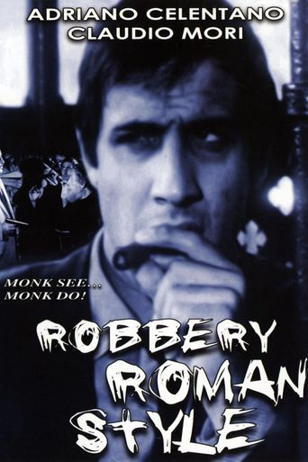 Robbery Roman Style Poster