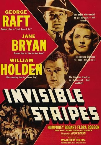 Invisible Stripes Poster