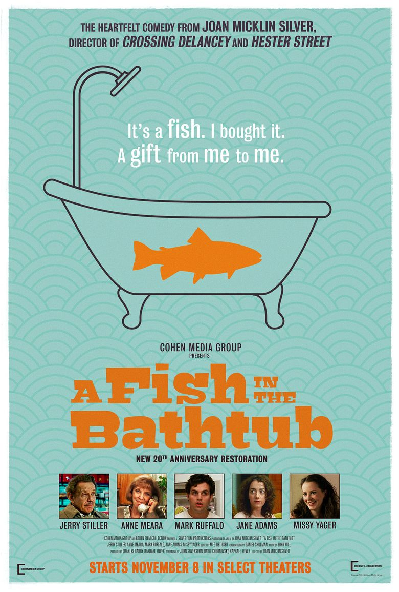 A Fish in the Bathtub Poster