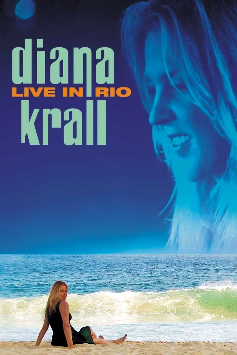 Diana Krall - Live In Rio Poster