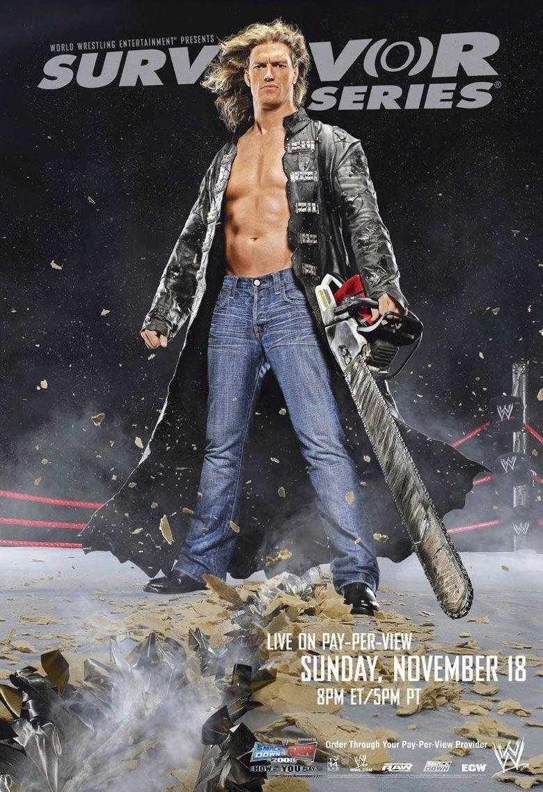 WWE Survivor Series 2007 Poster