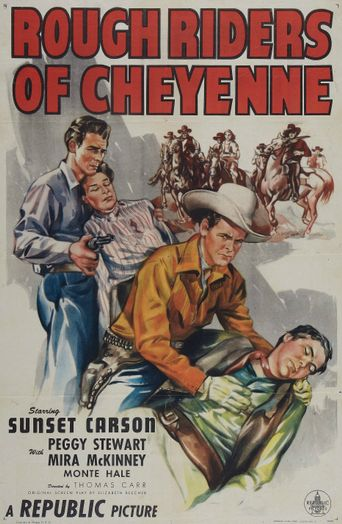 Rough Riders of Cheyenne Poster