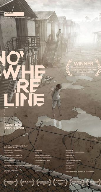 Nowhere Line: Voices from Manus Island Poster