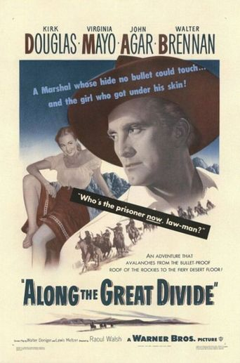Along the Great Divide Poster